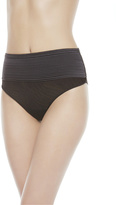 TULLE NERVURES High-Waisted Thong