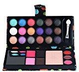 26Colors Cosmetic Eyeshadow Blush Lip Gloss Powder Makeup Palette (Black)