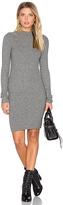 LAmade Melody Funnel Neck Dress in Grey