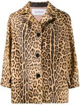Valentino leopard print jacket