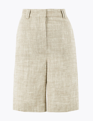 Marks and Spencer Tailored Linen Shorts