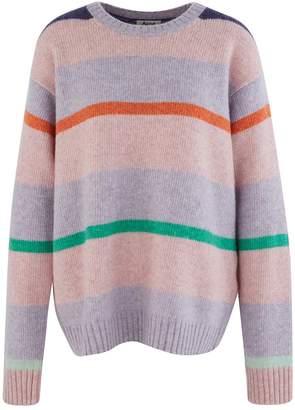 Acne Studios Kalexia striped sweatshirt.