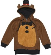 Bioworld Five Nights at Freddy's Youth Zip Hoodie with Hat Fazbear Boys Child SM-XL
