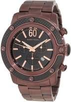 Glam Rock Men's GR33109 SoBe Chronograph Black Dial Watch