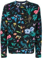 Paul Smith floral print sweatshirt