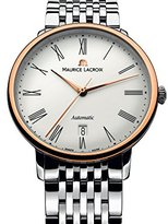 Maurice Lacroix Men's LC6067-PS102-110 Les Classiques Analog Display Swiss Automatic Silver Watch