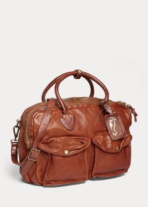 Ralph Lauren Leather Cargo Bag