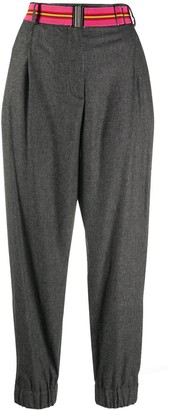 Paul Smith Houndstooth Belted Trousers
