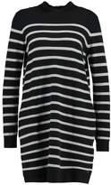 Tom Tailor STRIPES Jumper dress black/grey
