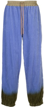 Bernhard Willhelm ZZZ corduroy trousers