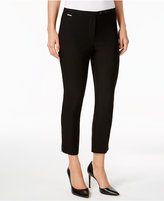 NY Collection Petite Cropped Skinny Pants