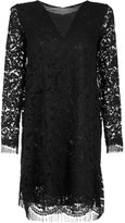ADAM by Adam Lippes lace shift dress - women - Cotton - 6