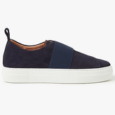 Pieces Paulina Suede Trainers, Navy