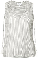 Derek Lam 10 Crosby tassel vest - women - Cotton - 0