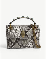 Kurt Geiger London Kensington snakeskin-effect leather mini shoulder bag