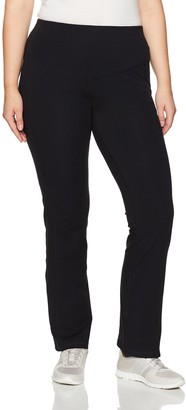 Basix II Rainbeau Curves Women's Plus Size Curve Bootcut Compression Legging