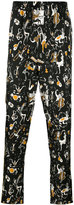 Dolce & Gabbana musical print pyjama trousers - men - Silk - 46