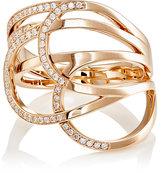 Repossi Women's La Ligne C Layered Ring-PINK