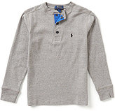 Ralph Lauren Big Boys 8-20 Henley Tee