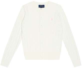 Polo Ralph Lauren Cable-knit cotton cardigan
