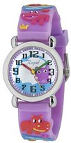 Regal Child Quartz Watch Analogue Display and Rubber Strap RE472
