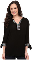 Rock and Roll Cowgirl 3/4 Sleeve Top B4-5376