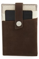 WANT Les Essentiels Men's Money Clip Wallet - Brown