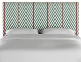 Bungalow Rose Boggs Modern Nail Button Border Upholstered Panel Headboard Size: Twin