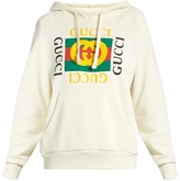 Gucci Logo-print hooded sweatshirt