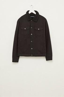 French Connection Soft Black Denim Jacket