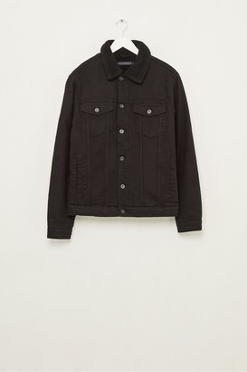 French Connection Soft Black Denim Jacket