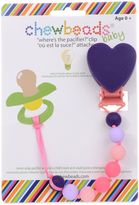 "Bed Bath & Beyond chewbeads® Heart ""Where's the Pacifier?"" Clip"