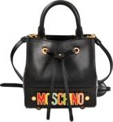 Moschino Lettering bucket bag