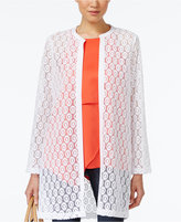 Alfani Lace Duster Cardigan, Only at Macy's