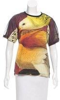 Reed Krakoff Printed Silk Top