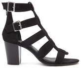 Forever 21 FOREVER 21+ Faux Suede Caged Heels
