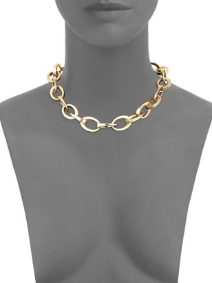Kenneth Jay Lane Oval Link Necklace