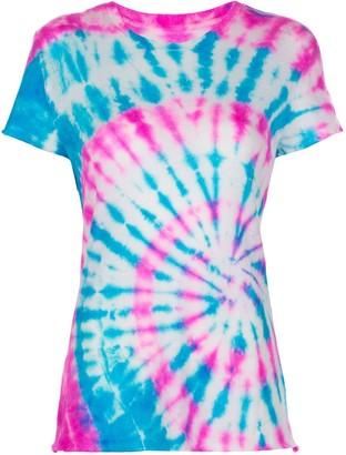 The Elder Statesman silk tie-dye T-shirt