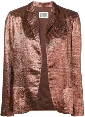Bill Blass Vintage 1980's metallic blazer