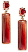Oscar de la Renta Ombre Bar Earrings