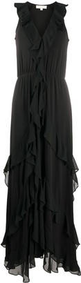 MICHAEL Michael Kors Long Ruffle Dress