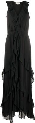 MICHAEL Michael Kors Long Ruffle Dress