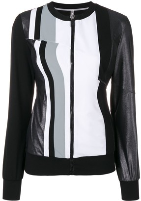 NO KA 'OI Striped Performance Jacket