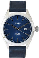 Timex TW2P77400 Silver-Tone & Blue Watch