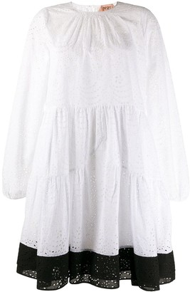 No.21 Lace Flared Dress