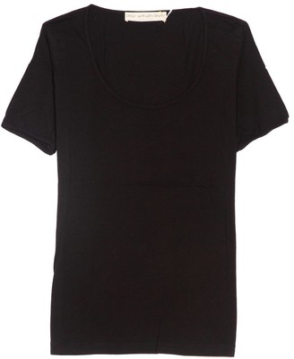 Plays Well With Others The Frequent Flyer Tee in Pure Black