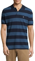 Brooks Brothers Men's Rugby Striped Cotton Polo Shirt