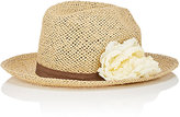 Barneys New York WOMEN'S STRAW FEDORA