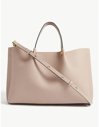 Valentino Top handle leather tote bag