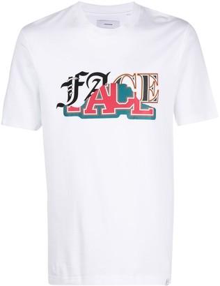 Facetasm typography logo T-shirt